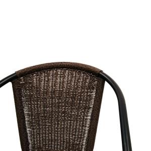 San Luca Chair - twisted wicker