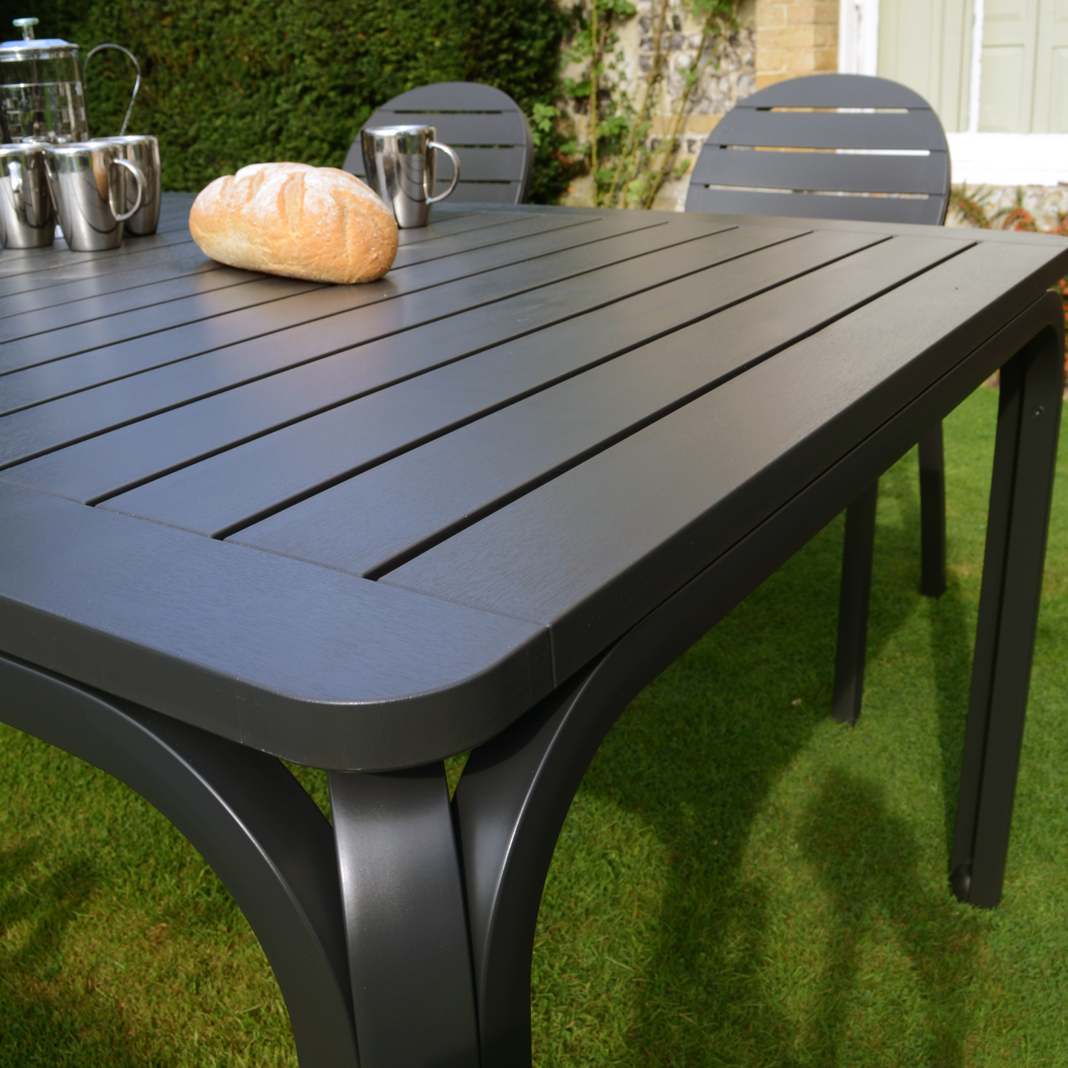 Alloro Table Anthracite Europa Leisure Uk