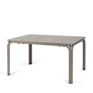 Alloro table in Turtle Dove grey