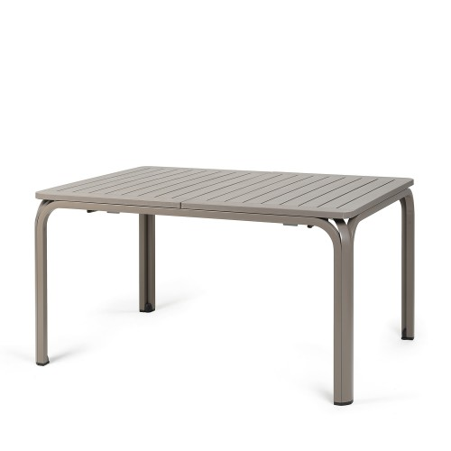 Alloro table in Turtle Dove grey