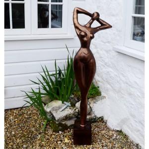 """Modern Art """"Poser"""" Statue"""