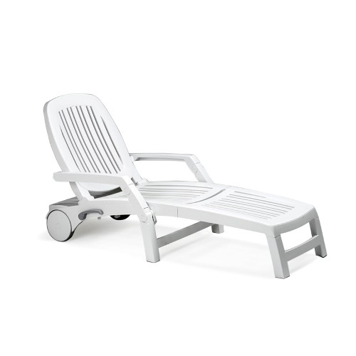 Vulcano Lounger - White