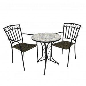 Verde Bistro table with Modena chairs