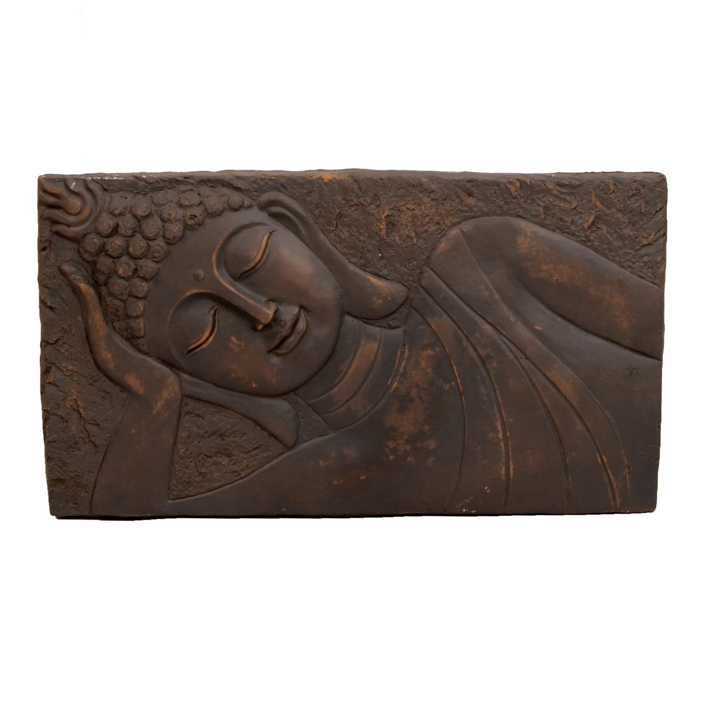 Buddha wall plaque - landscape