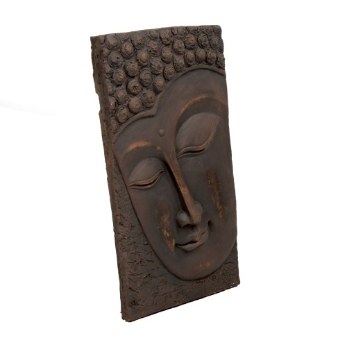 Buddha wall plaque - portrait