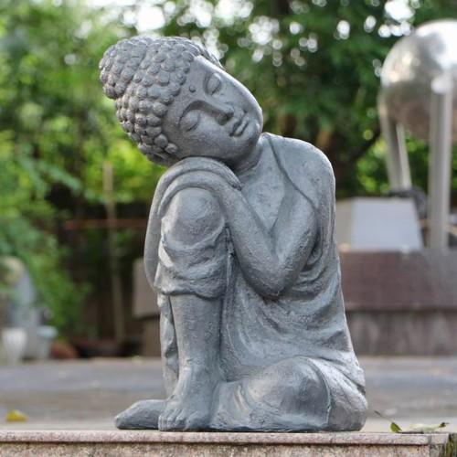 Buddha crouching