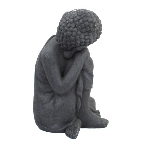Buddha crouching - side