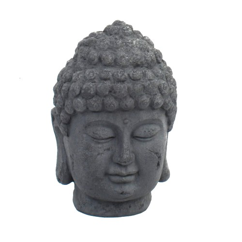 Buddha head bust - front