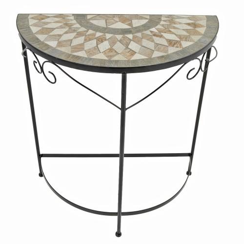 Brava Semi Round table