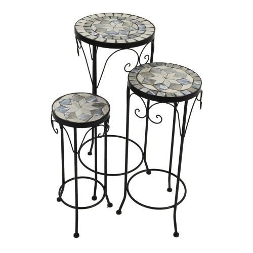 Verde set of 3 tall plant stands