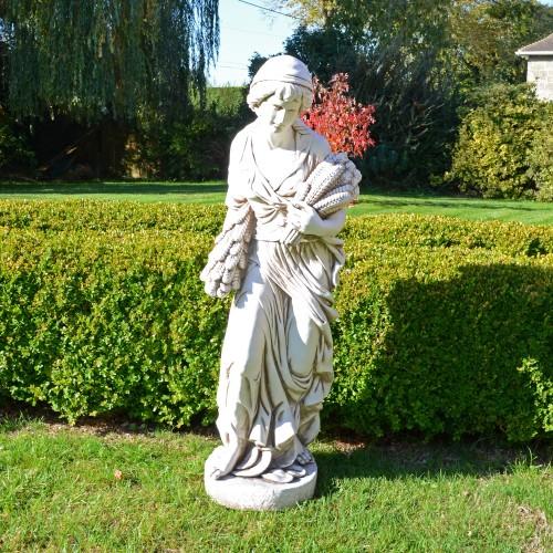 ANNIE in Autumn 119cm Antique Stone Effect