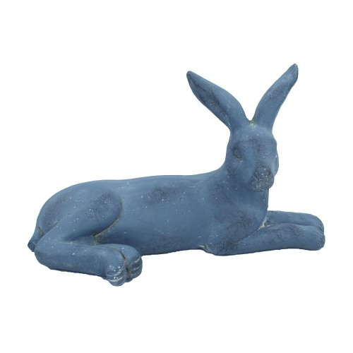 Hare Lying Blue Iron Effect