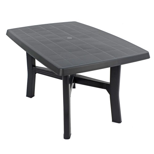Taranto 4 table in anthracite