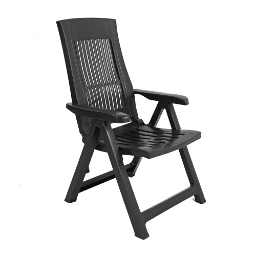 Palermo recliner chair in anthracite
