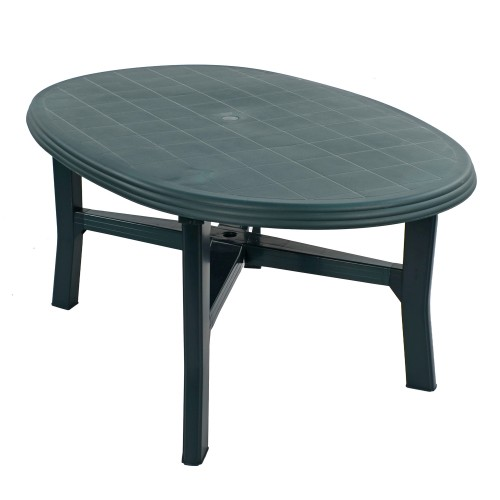 Teramo 6 Table in green