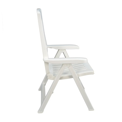 Palermo recliner chair in white