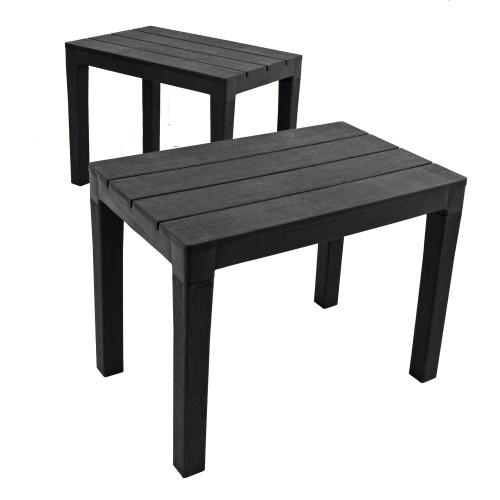 Roma bench seat - pair