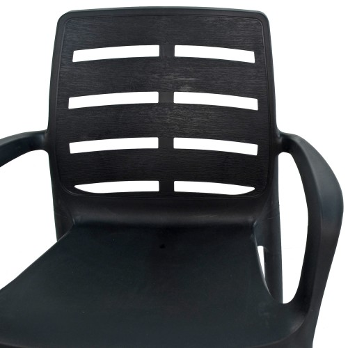 Siena stacking chair - detail