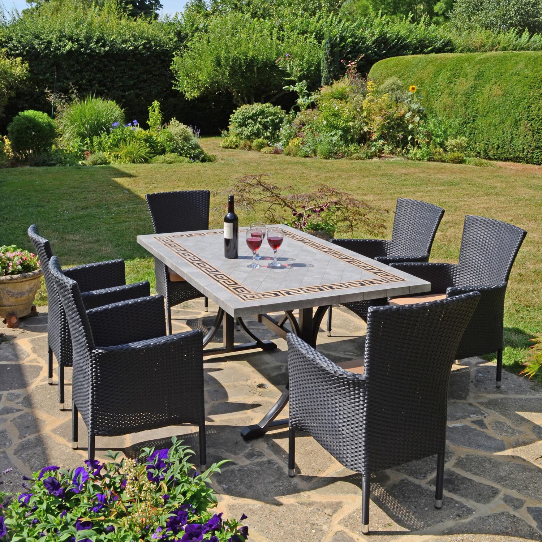 Outdoor Patio Furniture Burlington: Burlington Dining Table