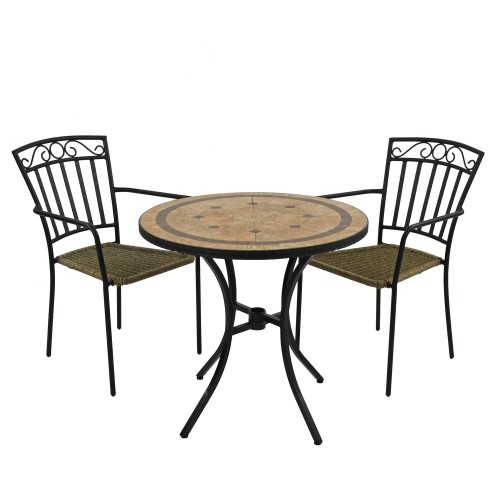 Richmond 76cm Table with Modena Chairs