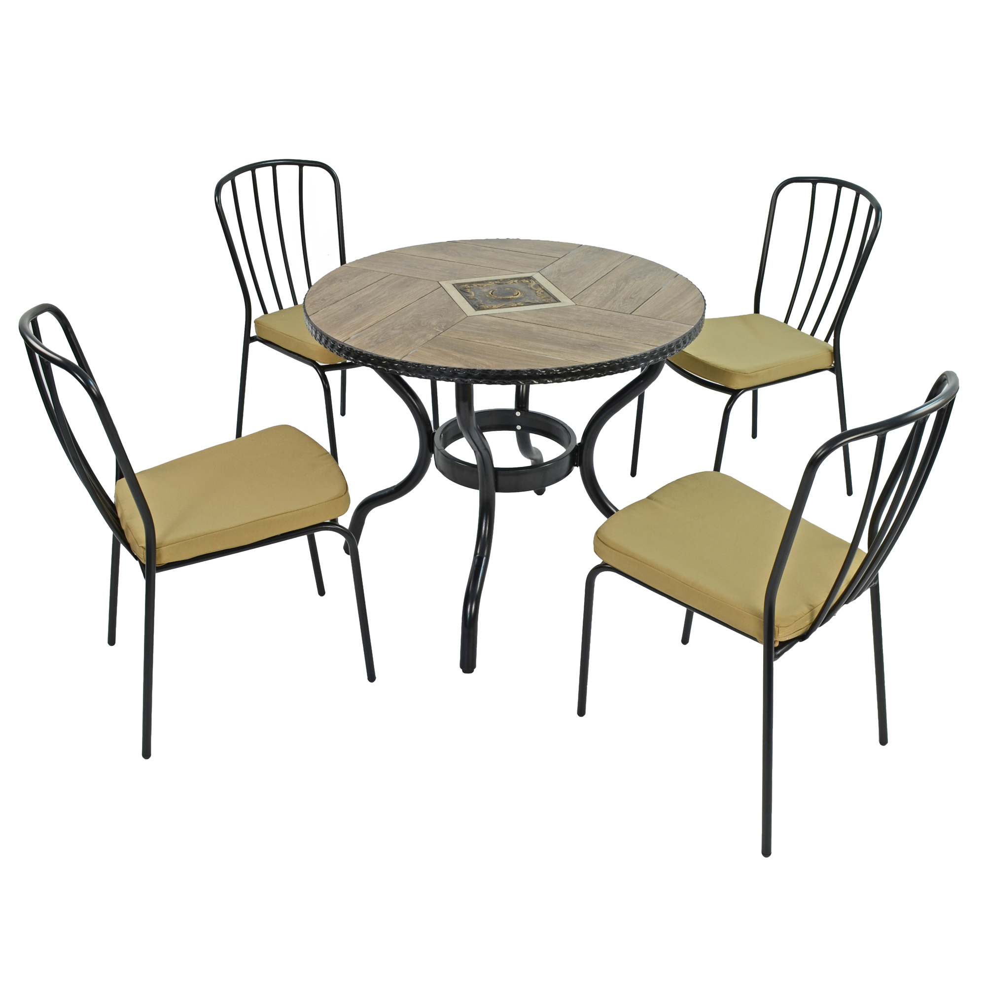 haslemere 91cm patio table